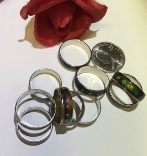 Fun mood rings. 10 total. $5 each or $30 for all. for Sale in Denver, CO