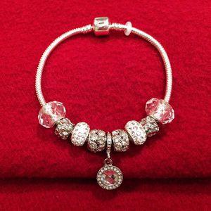 Brand new fantastic charm bracelet with velvet gift bag for Sale in Alexandria, VA