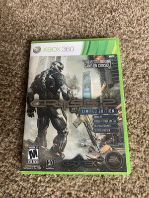 Xbox 360 crysis 2 video game for Sale in Portland, OR