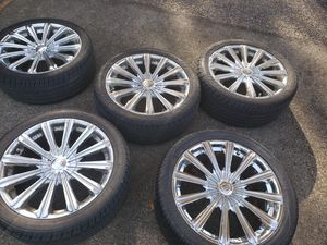 Wheels and tires 18inches boghini series 5 sets for Sale in Portland, OR
