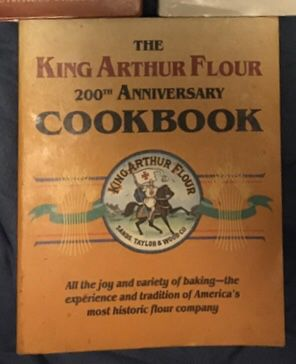 King Authur Flour bake and cook book set