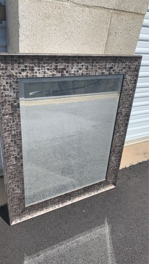 Grey Stone Mirror for Sale in Windsor Hills, CA