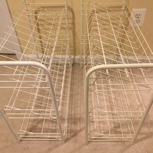 Nice Shoe Rack: Only $15 for two for Sale in Fairfax, VA