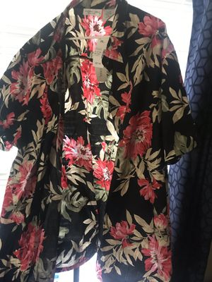 Many plus size clothes about 100 to choose from 5$ a piece 4x 5x going fast for Sale in Lincoln, IL