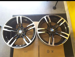 BMW M2 M3 M4 2015 2016 2017 86094 aluminum OEM wheel rim 19 x 9 CNC Black for Sale in Hempstead, NY
