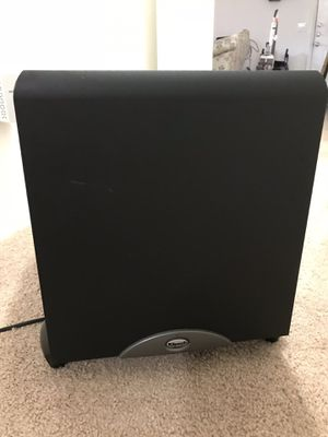 Klipsch 10 inch subwoofer for home theatre for Sale in Cary, NC