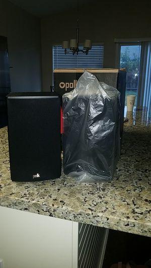 Polk audio speakers for Sale in Modesto, CA