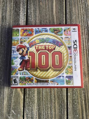 Brand New Mario Party The Top 100 l Nintendo 3DS for Sale in West Hartford, CT