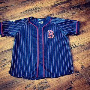 Boston red Sox jersey starter OG celtics patriots bruins nike jordan pin stripes for Sale in Henderson, NV