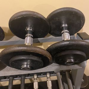 25lb Dumbells for Sale in Boston, MA