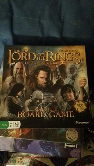 Lord of the Rings Board Game for Sale in Austin, TX