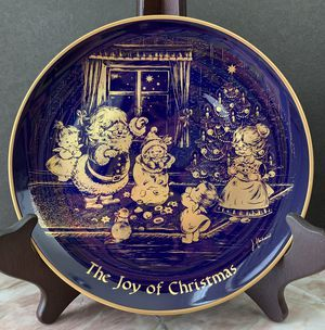 """8"""" Vintage Plate THE JOY OF CHRISTMAS - Limited Edition Christmas 1976 L L LHIS Collection for Sale in Peachtree Corners, GA"""