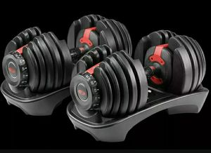 Brand New Bowflex SelectTech Adjustable Dumbbell Set! Can deliver! for Sale in Groton, CT