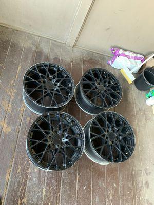TSW Rims 17.8 76.1 Satin Black. for Sale in Hollister, CA