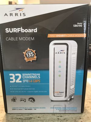 Arris Surfboard Modem SB6190 for Sale in Lemont, IL