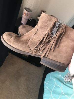 Fringe booties for Sale in Killeen, TX