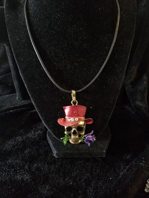 Candy skull charm necklace for Sale in Aurora, CO