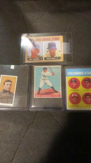 Four Classic Baseball Card Reprints for Sale in Elizabeth, NJ