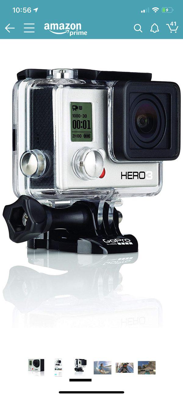 NEW GoPro 3 White Edition (no box)