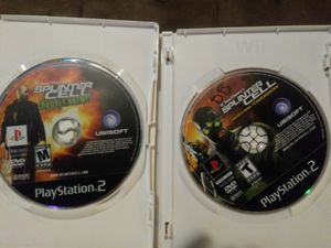 PS2 Splinter Cell Double Agent and Pandora Tomorrow for Sale in Denver, CO