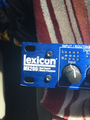 Lexicon MX 200 dual reverb effects processor for Sale in Morris, IL