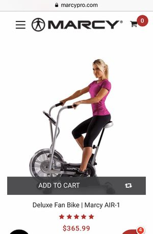 NEW Marcy Deluxe Fan Exercise Bike model AIR 1 for Sale in Homewood, IL