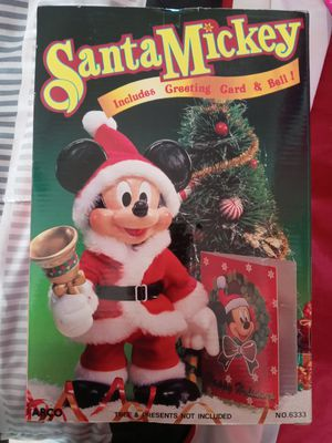 Santa Mickey. Never opened for Sale in Clifton, NJ
