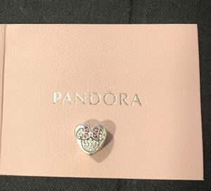 Mickey and Minnie Mouse Icon Heart Charm by Pandora for Sale in Escondido, CA