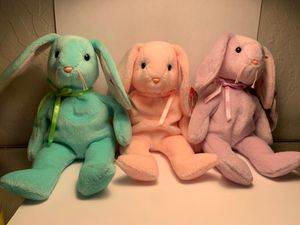 Beanie Babies: Hippity, Hoppity, and Floppity. for Sale in Cupertino, CA