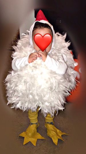 Toddler chicken Halloween costume for Sale in Seattle, WA