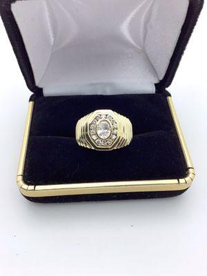 14k Oval Diamond Ring for Sale in Ontario, CA