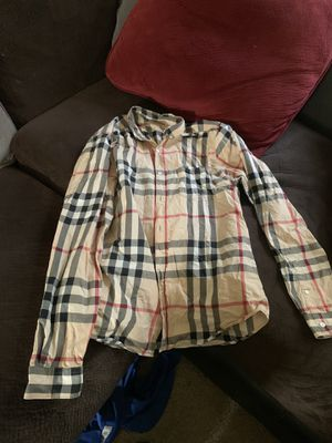 Burberry shirt for Sale in Washington, DC
