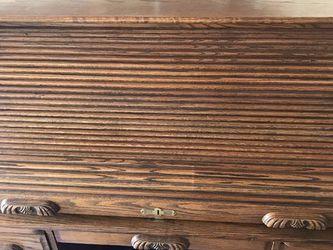 Oak Roll Top Desk for Sale in Long Beach,  CA