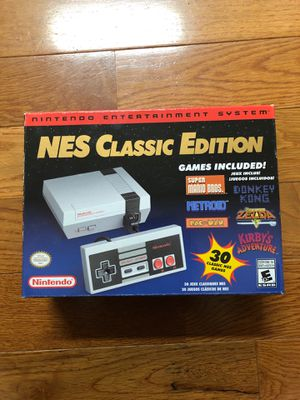 Nintendo classic console for Sale in Washington, DC