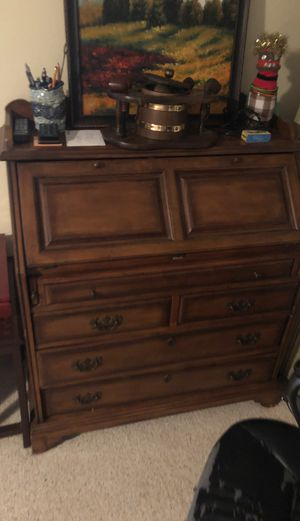 Wood desk for Sale in Chesapeake, VA