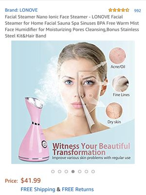 Facial Steamer for Sale in Moore, SC