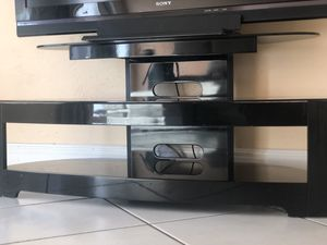 Modern Glass Tv Stand for Sale in Davie, FL