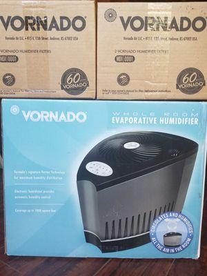 Vornado Evaporative Humidifier plus 2 filters NIB for Sale in Sacramento, CA