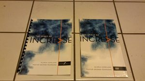 The Spirit of Increase DVD & Study Guide Book for Sale in Los Angeles, CA