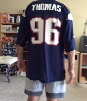 Reebok Patriots NFL Jersey Large Size for Sale in Pinellas Park, FL