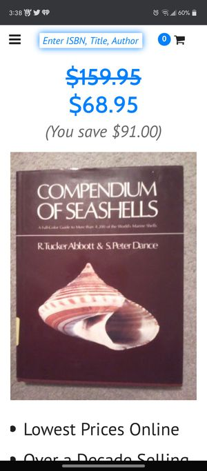 Seashell classification book for Sale in Fort Worth, TX