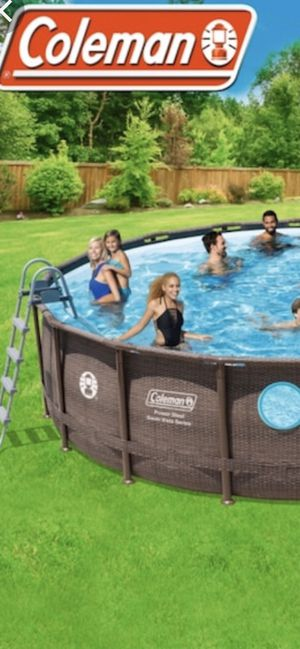 Coleman swimming Pool 18x48 for Sale in Lawrence, MA