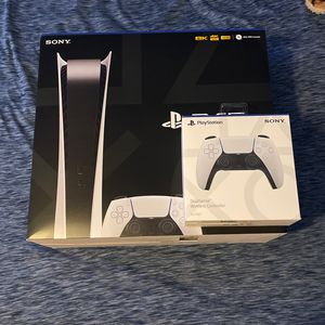 PlayStation 5 Digital Edition With Extra Controller for Sale in Manassas, VA