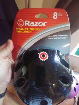 New bike helmet - Razor Black for Sale in Tampa, FL
