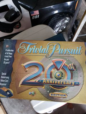 Anniversary trivial pursuit board game for Sale in Clearwater, FL