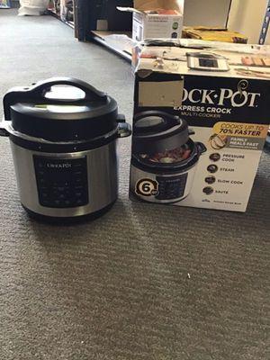 Crock pot express crock,6Quart for Sale in Allen Park, MI