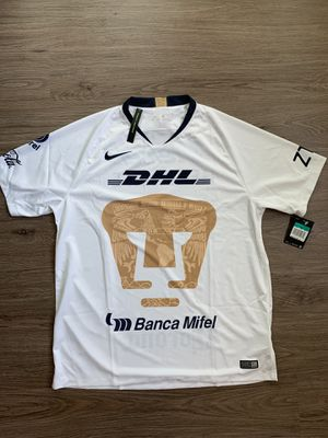 Nike Pumas UNAM Official 2018 2019 Home Soccer Football Jersey for Sale in Dallas, TX