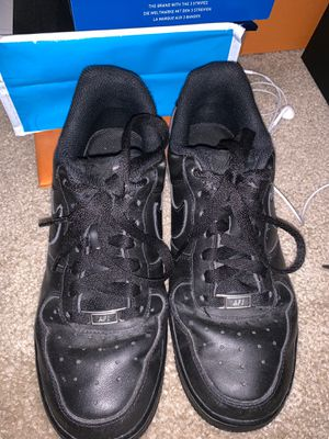 Nike AIR force black womens for Sale in Seattle, WA