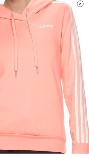 New Women's pink Adidas Hoodie sweatshirt large for Sale in Alta Loma, CA