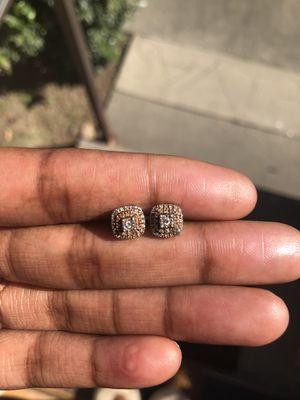 Diamond Cluster Earrings for Sale in Sacramento, CA